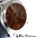 Ben Sherman Ben Sherman Orange face watch men's new mod fashion display Orange Face stainless steel belt arm watches analog watches UK MOD 201301 bs038