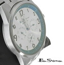 Ben Sherman ブルーフェイス watches mens Ben Sherman mod fashion analog watch stainless steel belt UK MOD watch target button dial r153