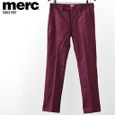 Merc London Merck London trousers chinos men's new mod fashion Merck London Sta Press Trouser スタプレス star press trousers pants bottoms straight fit wine UK モッズファッション 1210201 wine * 28 * 30 * 32 * 34