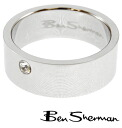 Ben Sherman Ben Sherman rhinestone ring rings men's mod fashion Ring logo BOX BenSherman UK MOD r552 * 22 * 23 * 26