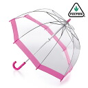 FULTON Fulton umbrella small kids mini umbrella kids ファンブレラ long umbrella United Kingdom Royal warrant new Pink Pink Kids Kids Kids Funbrella Umbrella umbrella slim mod fashion United Kingdom London fultonc603pink