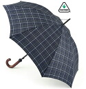 FULTON Fulton umbrella umbrella mens Huntsman gentleman standard length umbrella United Kingdom Royal warrant new Huntsman double check Double Check Umbrella umbrella Fulton mod fashion United Kingdom fultong817doublecheck