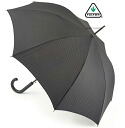 FULTON Fulton umbrella umbrella men's Shoreditch gentleman standard length umbrella United Kingdom Royal warrant new Shoreditch cross-print black jump umbrella Umbrella umbrella mod fashion United Kingdom fultong832crossprint
