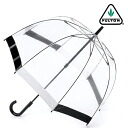 Fulton Fulton umbrella umbrella birdcage FULTON Chief umbrella United Kingdom Royal warrant new black white ladies BirdCage Umbrella umbrella birdcage Fulton fashion United Kingdom London fultonl041blackwhite