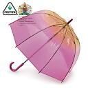 FULTON Fulton umbrella umbrella birdcage Ombre length umbrella United Kingdom Royal warrant new ombre Orange gradient ladies BirdCage Umbrella umbrella birdcage Fulton fashion United Kingdom London fultonl042ombre