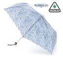 FULTON Fulton William Morris umbrella folding umbrella umbrella Superslim United Kingdom Royal warrant new William Morris Maurice Willow floral design flower ladies Folding Umbrella umbrella mod fashion United Kingdom London fultonl714willow