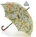 Fulton FULTON umbrella umbrella umbrella Golden Lily William Morris Chief umbrella United Kingdom Royal purveyor Lily Roma classic Brown flower floral ladies William Morris Umbrella umbrella mod fashion United Kingdom London fultonl715goldenlily