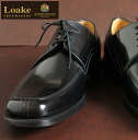 Loake England Rourke mens leather business shoes ARTEMIS United Kingdom brand Polished Apron Tie black エプロンタイ U chip squat this cowhide leather shoes mod UK United Kingdom Royal loakeartemisblack * 27 * 28