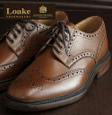 Loake England Rourke England mens shoes CHESTER Chester 1880 United Kingdom made by Goodyear mahogany United Kingdom brand パーフォレイト wing tip premium leather leather leather shoes leather shoes United Kingdom Royal loakechestermahogany * 26 *26.5 * 27
