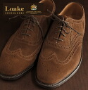 Loake202brownsueded