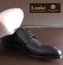 Rourke Loake England England mens shoes GLADSTONE 1880-United Kingdom business leather United Kingdom brand Black Derby outside blades casual style EMI Lolita this cowhide leather shoes mod UK London UK United Kingdom Royal loakegladstoneblack * 25 * 26