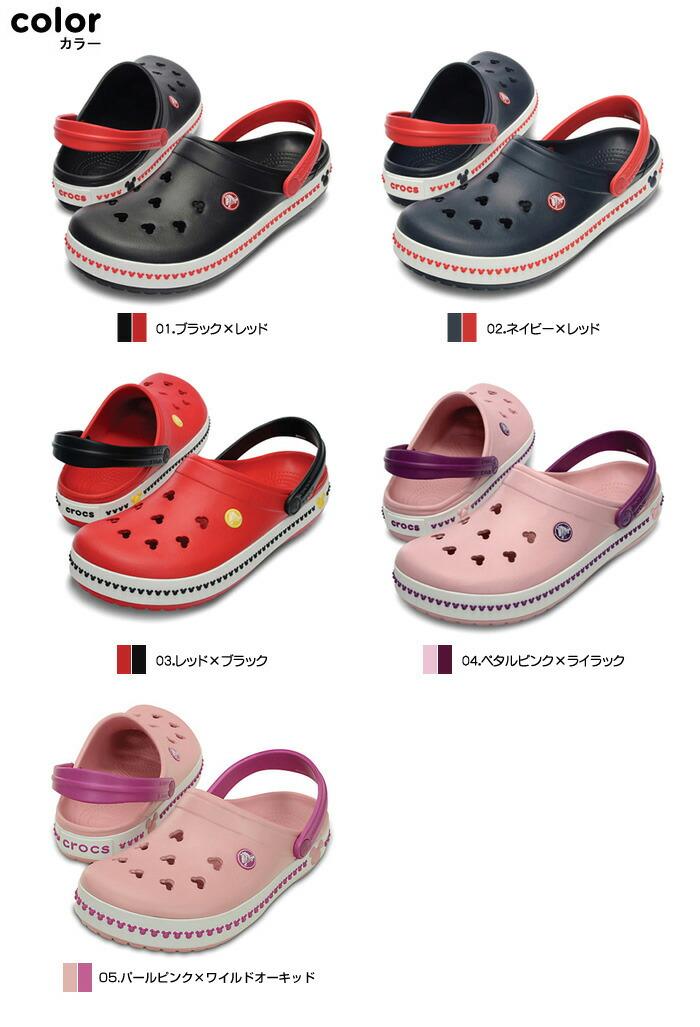 crocs【クロックス】 Crocband Mickey Clog 3.0/クロックバンド ミッキー クロッグ 3.0