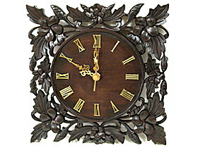 掛け時計(木製)