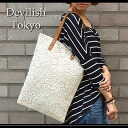 "(Non-) flower motif Clocher race ""adult"" girly tote bag! A4 size also fits comfortably."