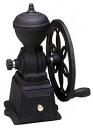 -20% Off-Carita hand-ground cast iron coffee grinder Diamir (black) ダイヤコーヒーミル