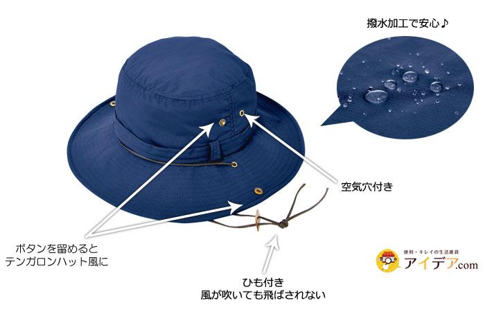 機能的なUV帽子