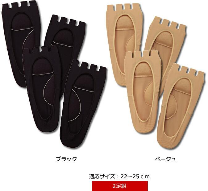 適応サイズ:22〜25cm(2足組)