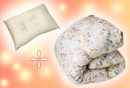 西川羽毛布団が71%OFF!洗える枕サービス