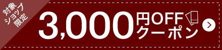 (こちらは3000円)OFFクーポンキャンペーン