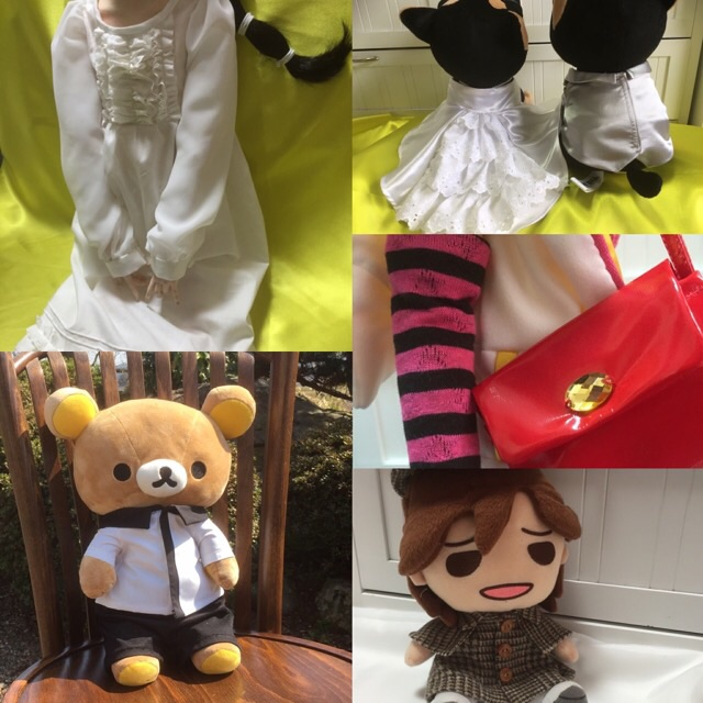 お人形の服