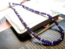 Natural stone with a ■ chains ■ cut Amethyst &Silver consolidated chain Amethyst necklace アメジストネックレス Amethyst entertainers purveyor mens Womens accessories necklace silver Silver 925 silver silver925