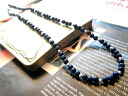 Natural stone with a ■ chains ■ lapis lazuli &Silver consolidated chain lapis lazuli necklace ラピスラズリネックレス entertainers purveyor mens Womens accessories necklace silver Silver 925 silver silver925 10P02jun13