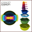 ( Joseph Joseph ) kitchen tool set nesting 9 plus ◆ ジョゼフジョゼフ / food washing machines enabled / nesting / set / measuring cup / メジャーカップ / Bowl / ball sieve / storage / compact / kitchen / kitchen appliances / kitchen gadgets / ideas / useful / convenient