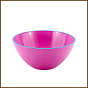 /5P13oct13_b made in colorful BIC ball pink approximately 20cm in diameter ◆ // / range OK/ bowl / ball / salad bowl / salad bowl / kitchen / kitchen goods / kitchen miscellaneous goods / kitchen article / miscellaneous goods / preliminary arrangements / size grain / lacquerware / Japan for dishwasher for microwave oven
