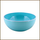 /5P13oct13_b made in カラフルデカッボールブルー 24cm in diameter ◆ / bowl / ball / salad bowl / salad bowl / colorful bowl / size / kitchen / kitchen goods / kitchen miscellaneous goods / kitchen article / miscellaneous goods / preliminary arrangements / lacquerware / Japan for dishwasher