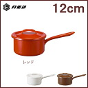 Enamel saucepan 12 cm 0. 7 L red-◆-rabbit / get / Noda enamel / porcelain enamel / hand pot / enameled pot / enameled pot / retro / mini / lid / lid / weaning food / skillet / small / mini / Cookware / Japan made