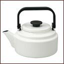 アムケトル enamel Kettle 2. 0 l white ◆ IH support /ih 200v response / Noda / Noda enamel / porcelain enamel / ホーローケトル / white / Kettle / retro/simple / utensils and made in Japan