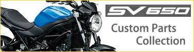 SV650 カスタムパーツセレクション