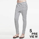 5 preview ファイブプレビュー women's ボーダールーズレギンス STRIPED LOOSE LEGGINS (2014 SS) fs04gm