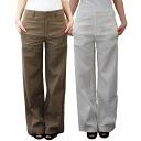 JENEVIEVE Genevieve ladies trousers, ワイドフレアー fs3gm