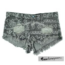 Teaspoon ladies crash denim shorts AZTEC TRASHWHORES fs3gm