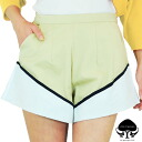 "The State of Georgia ステートオブジョージア by color change shorts beige × white ""FOLD UP SHORT"" (2013 SS) fs3gm"