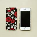 iPhone5/5S cover plum black