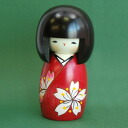 Usaburo Kokeshi flower's Cherry (Cherry of flower)