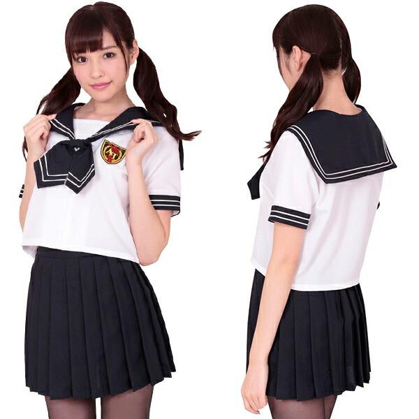 コスプレ セーラー服 学生服 女子高生 制服 コスチューム