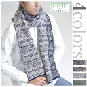 ★ Smartphone in entry points 19 times! Up to 24 9:59. Made in Scotland ギルバートウイ Wilson JACQUARD MUFFLER Jacquard scarf 4 colors
