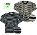 GREEN HILLS (MILLER Miller) サーマルボーダー long sleeve T Shirt 2 colors