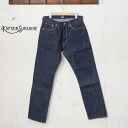 ★ points 10 times! Captain sunshine EAST COAST DENIM PANTS East Coast denim pants / jeans INDIGO Indigo
