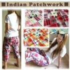 インド綿パッチワークチェック