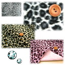 ★ Leopard and back paste stickers ★ (per 50 cm)