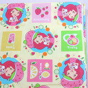 STRAWBERRY SHORT CAKE strawberry shortcake cloth selling by piece yellow