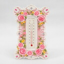Tim Sale ★ pink rose thermometer
