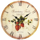Art Wall-Clock Strawberry clock
