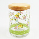Bargain charms garden wood lid canisters (flower)