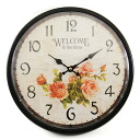 Wall clock ( welcome )