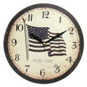 Art Wall-Clock USA フラッグク lock